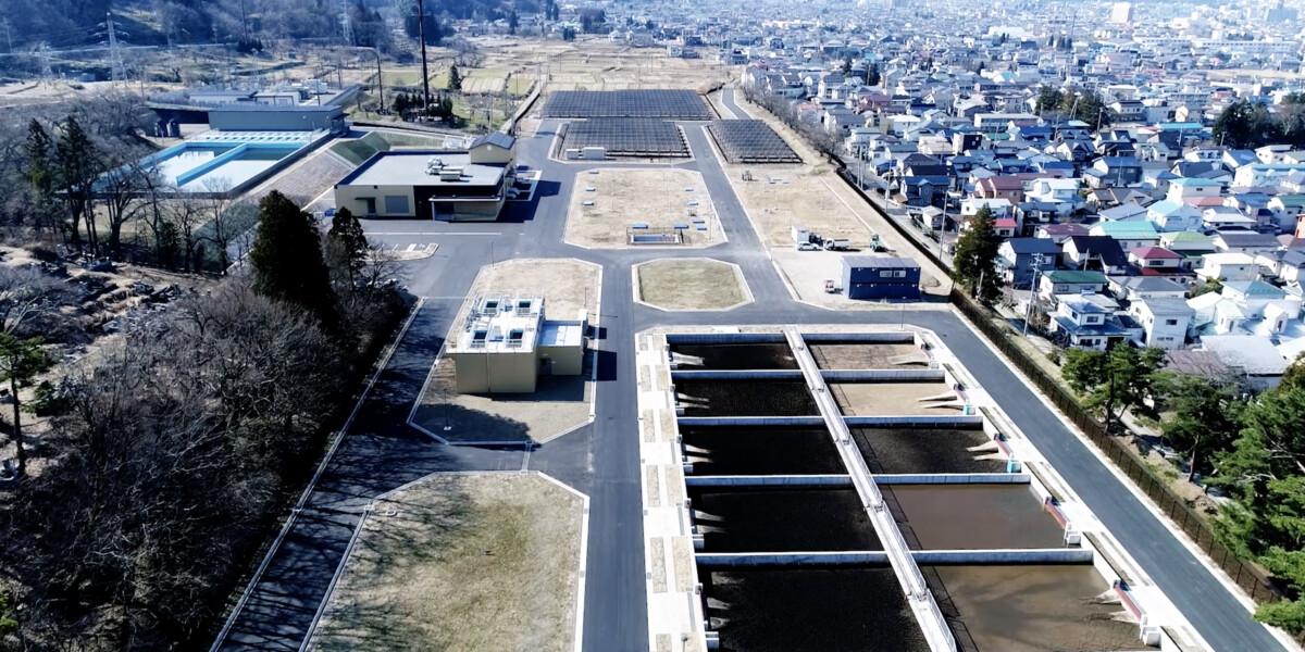 メタウォーター/新滝沢浄水場(PV)